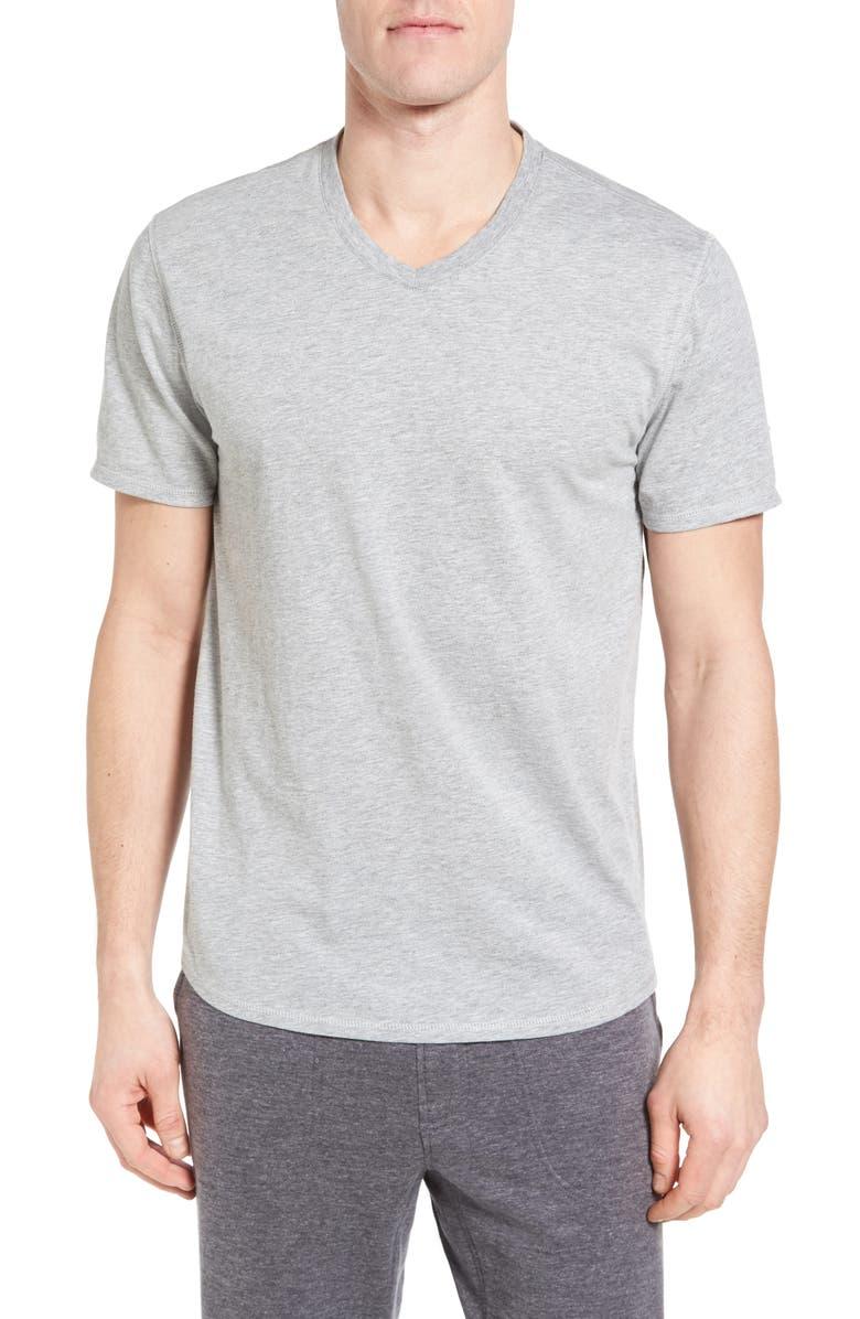 NORDSTROM MEN'S SHOP V-Neck T-Shirt, Main, color, 020