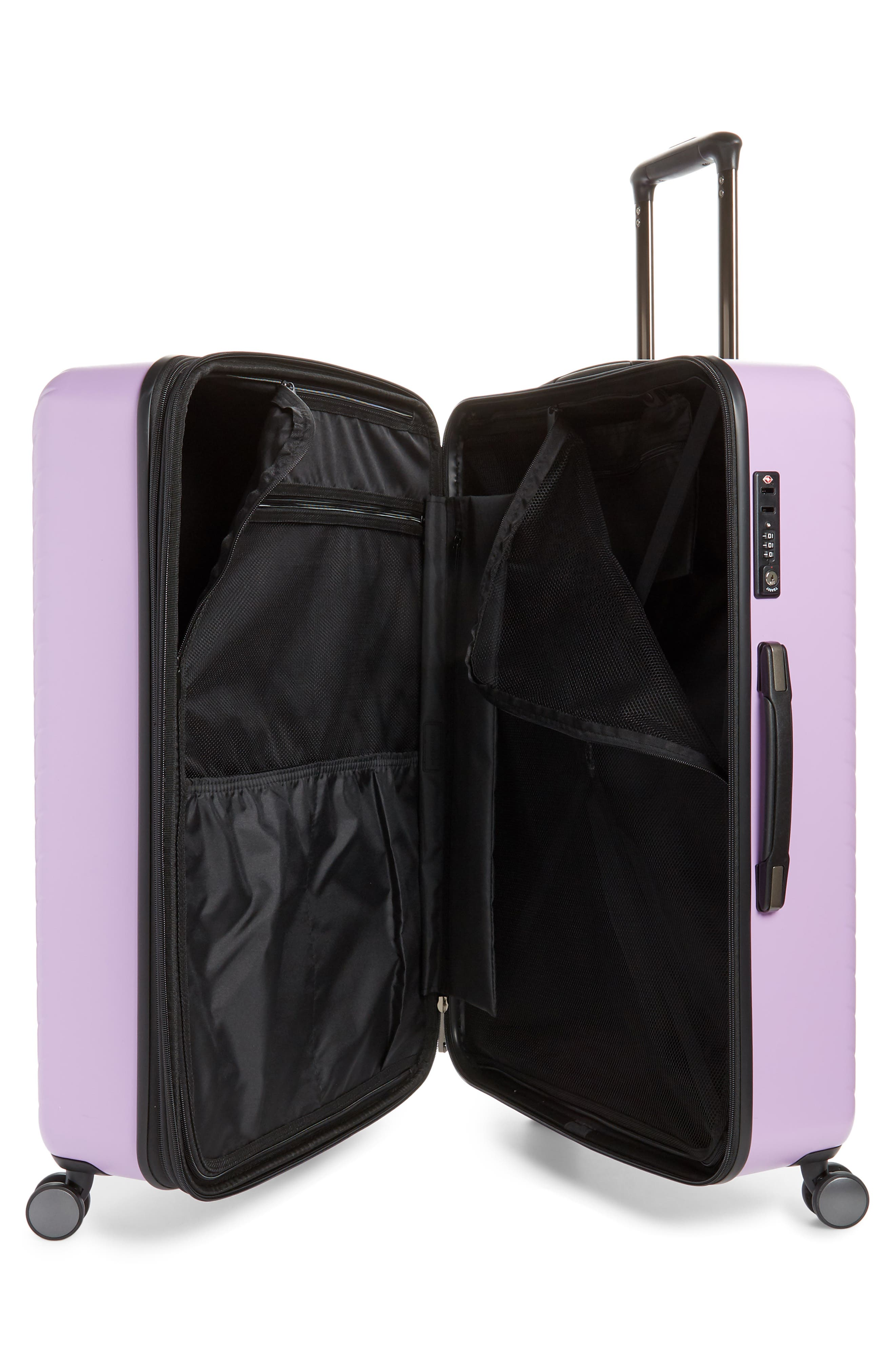 ,                             Chevron 29-Inch & 18-Inch Spinner Luggage Set,                             Alternate thumbnail 2, color,                             LAVENDER SWEET