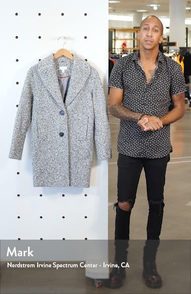 Odette Bouclé Knit Coat, sales video thumbnail