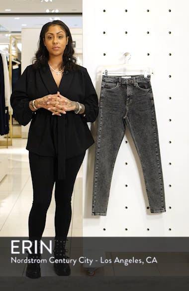 Jamie High Waist Acid Wash Ankle Skinny Jeans, sales video thumbnail