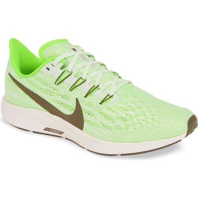 Nike Air Zoom Pegasus 36 Running Shoe - Green