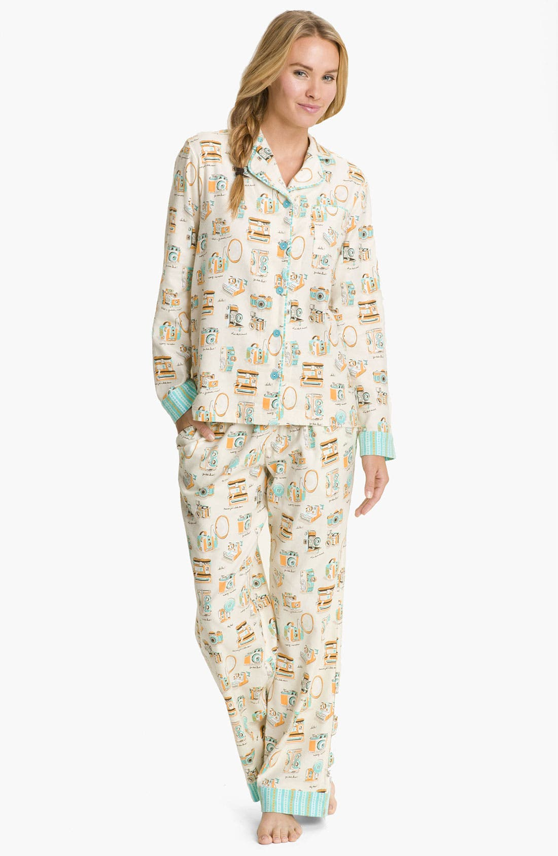 ,                             Flannel Pajamas,                             Main thumbnail 106, color,                             900