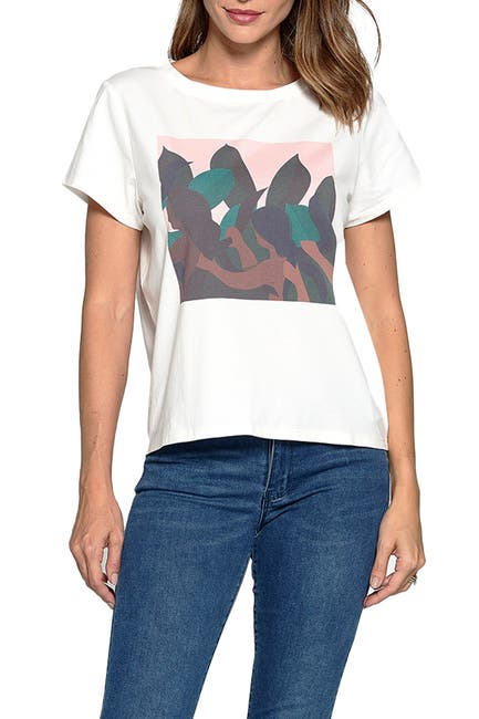 Image of MAUBY Line Graphic T-Shirt