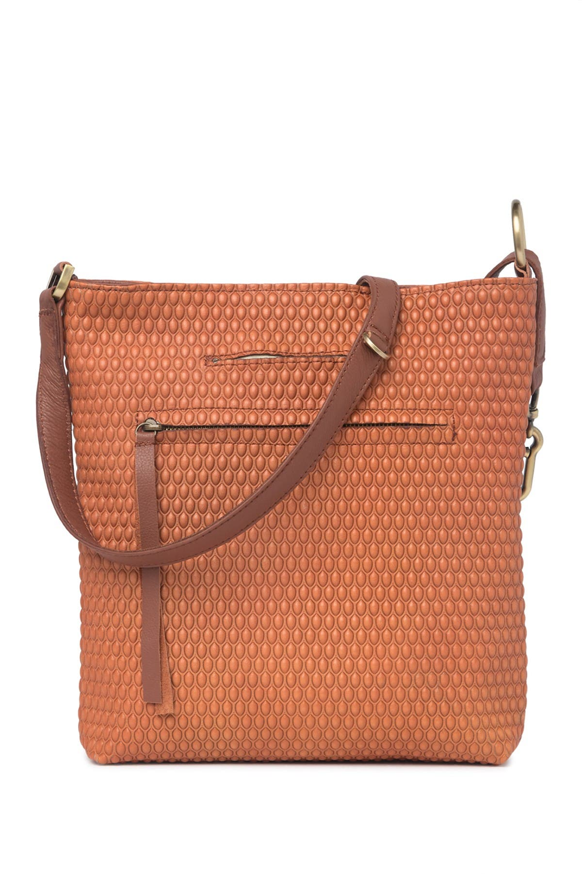 Image of Carla Mancini Riley Top Zippered Crossbody Bag