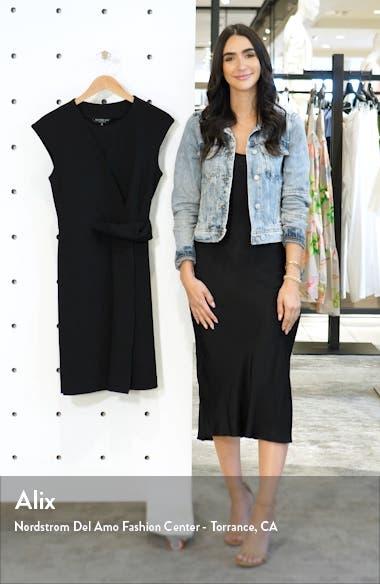 Asymmetrical Twist Knit Dress, sales video thumbnail