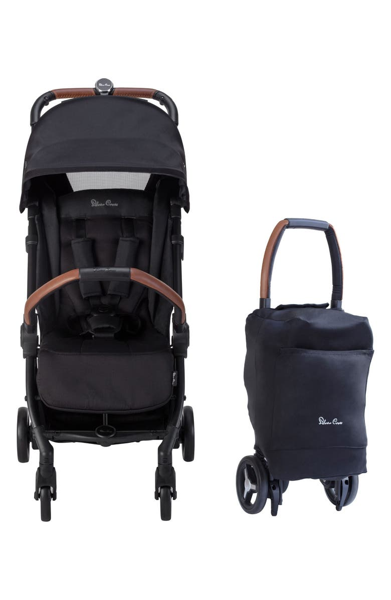 SILVER CROSS 2020 Jet Stroller, Main, color, BLACK