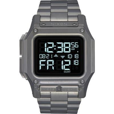Nixon Regulus Digital Bracelet Watch, 4m