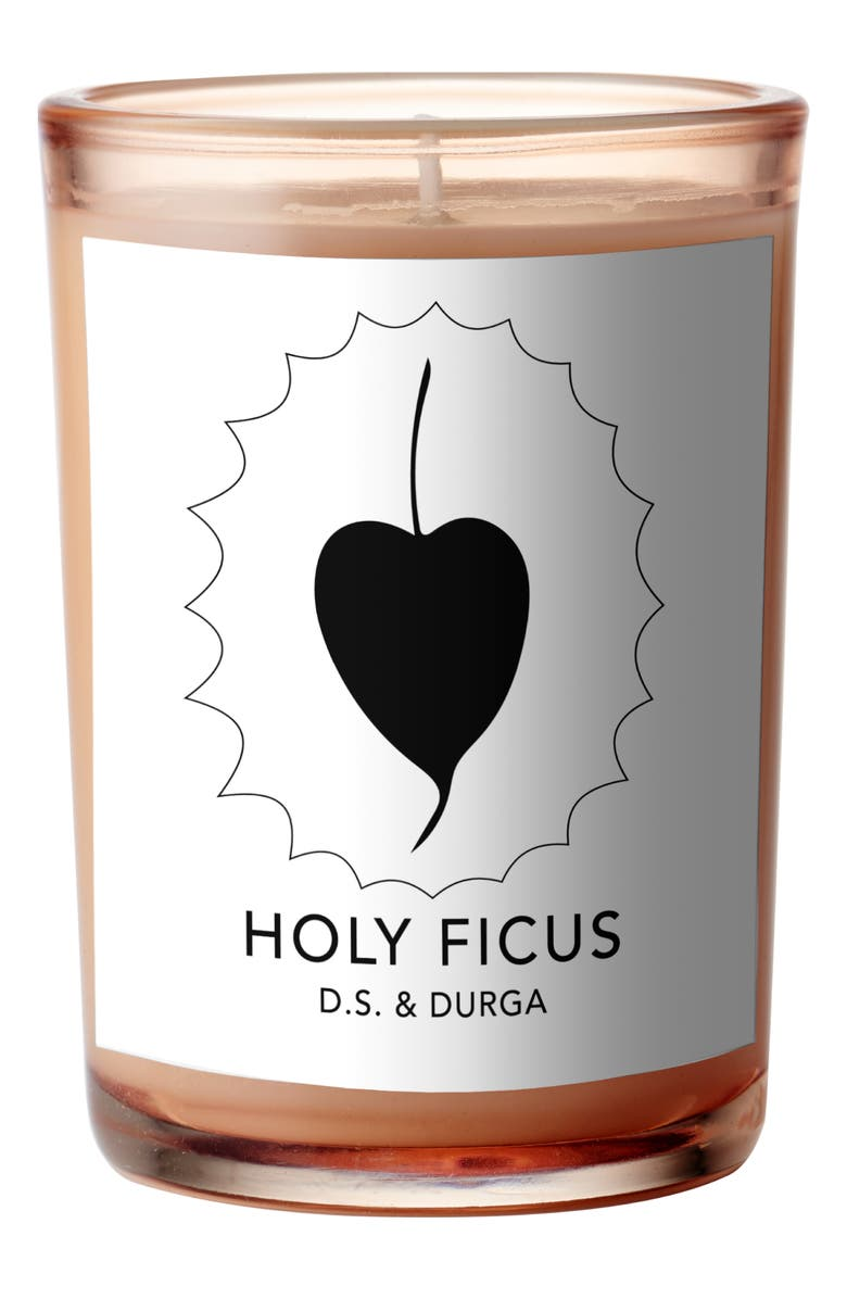 D.S. & DURGA Holy Ficus Scented Candle, Main, color, White
