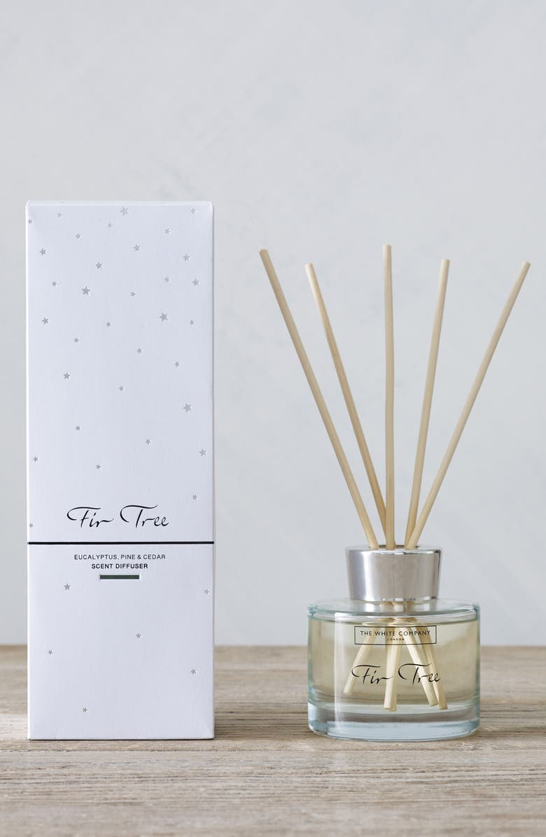 THE WHITE COMPANY Large Fir Tree Reed Diffuser, Main, color, 100