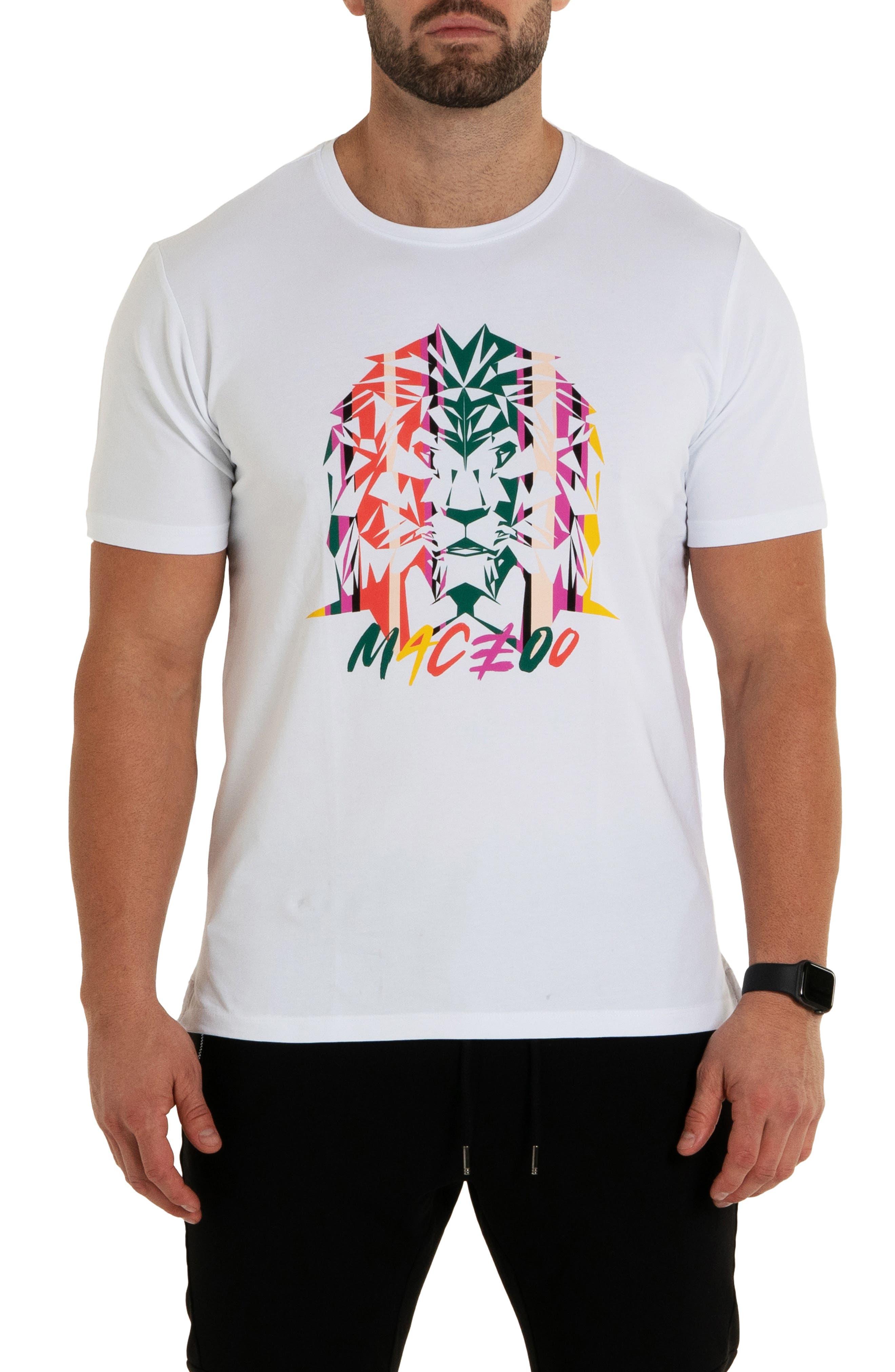 Lion Miami Graphic Tee