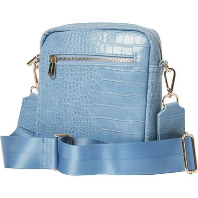 Urban Originals Catch Up Vegan Leather Crossbody Bag - Blue