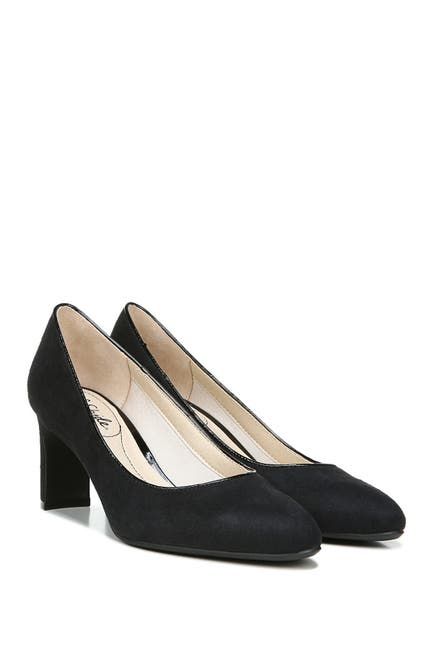 Image of LifeStride Gigi Microsuede Pump - Wide Width Available