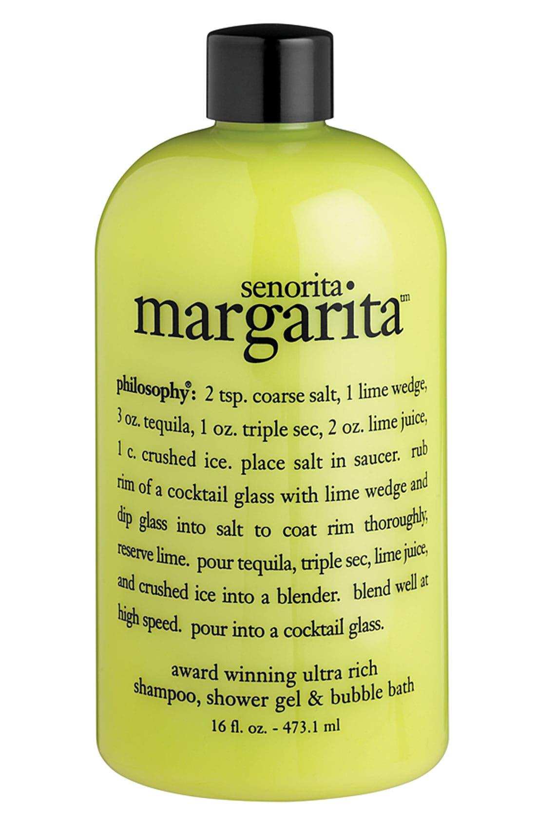 ,                             'señorita margarita' shampoo, conditioner & body wash,                             Alternate thumbnail 2, color,                             NO COLOR
