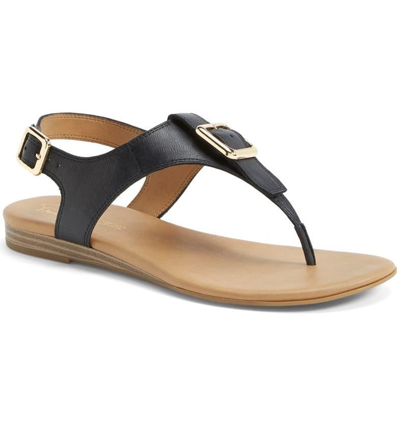 FRANCO SARTO 'Gita' Thong Sandal, Main, color, 001
