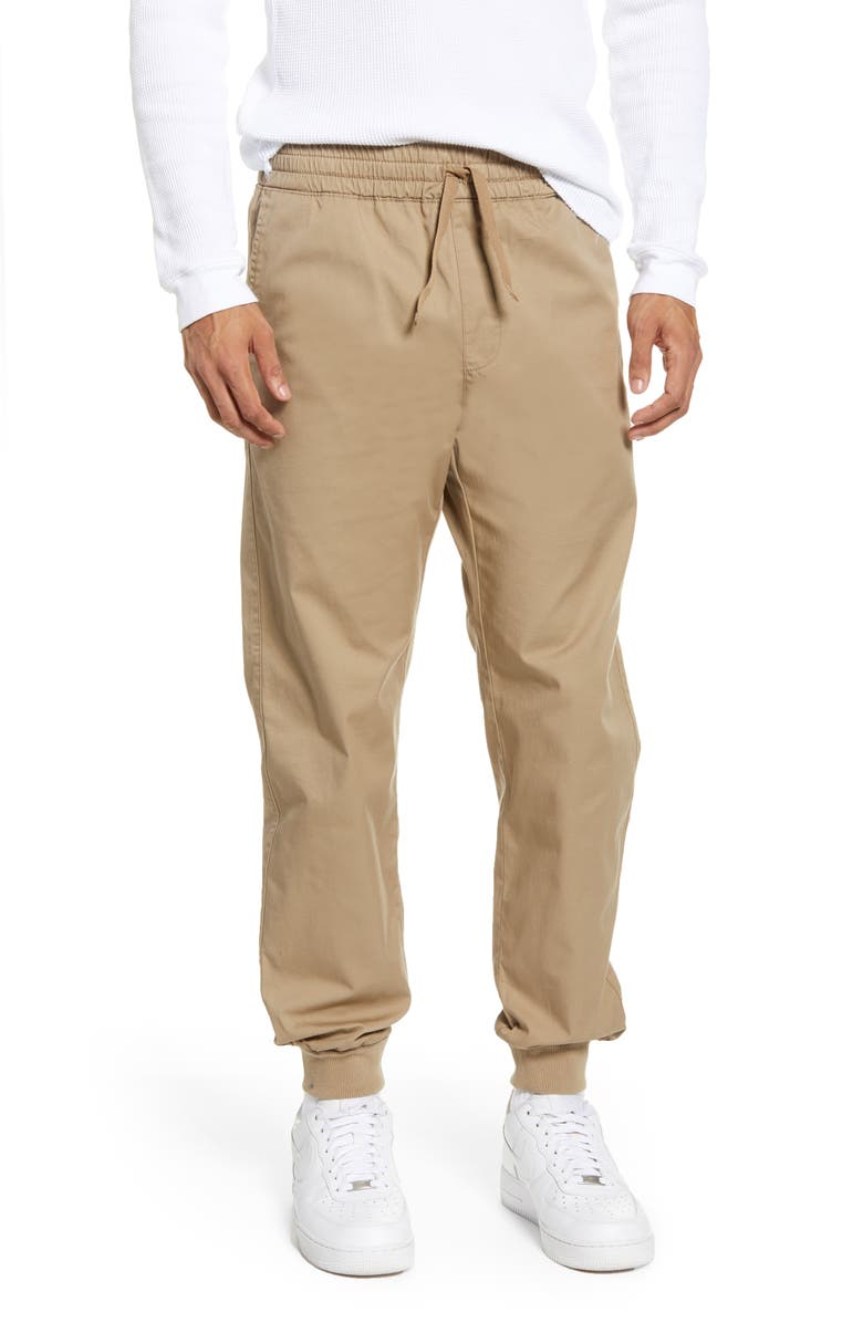 CARHARTT WORK IN PROGRESS Madison Joggers, Main, color, LEATHER