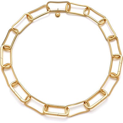 Monica Vinader Alta Capture Large Link Necklace