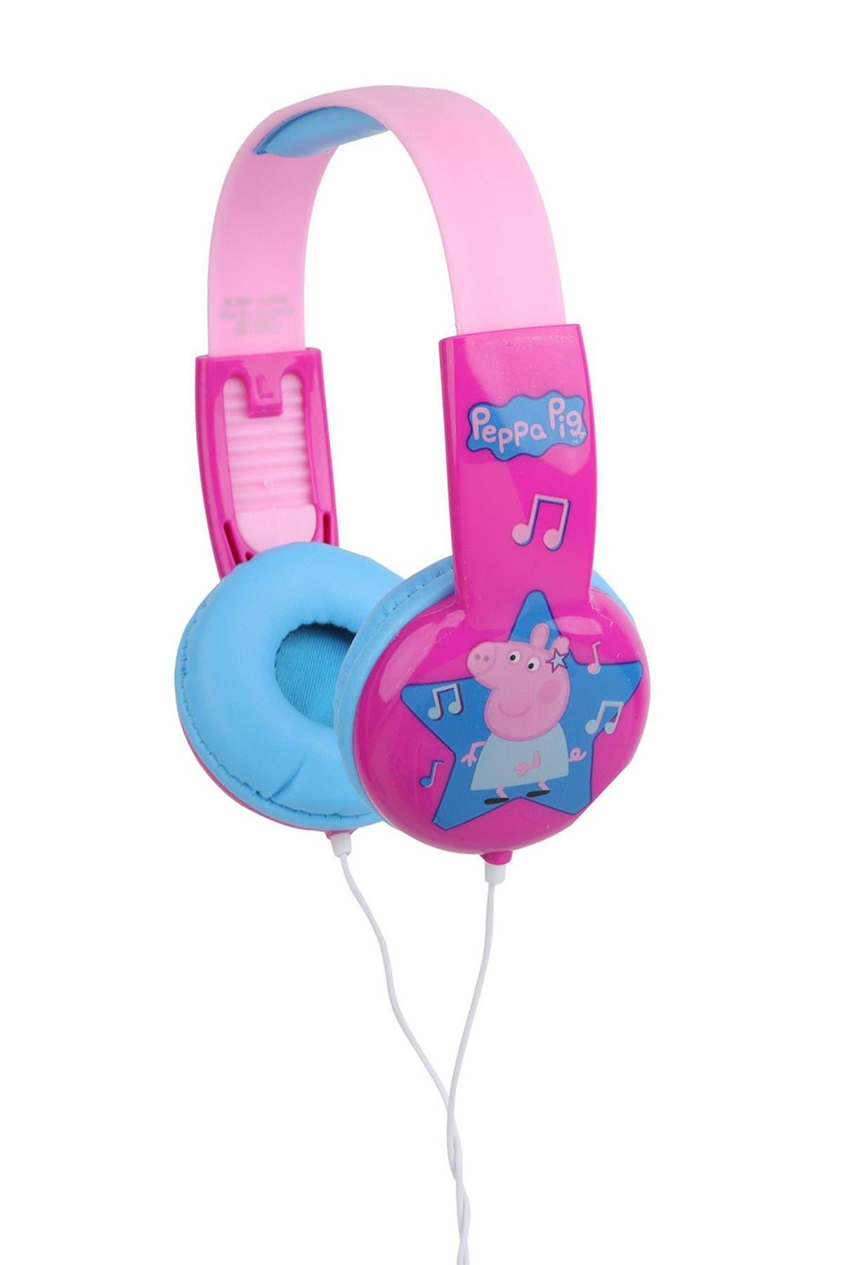 Image of VIVITAR Peppa Pig Kids-Safe Headphones