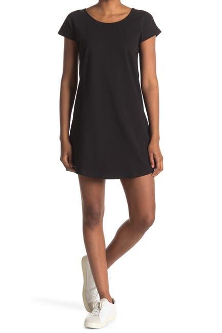 Image of Bobeau Cotton French Terry Dress