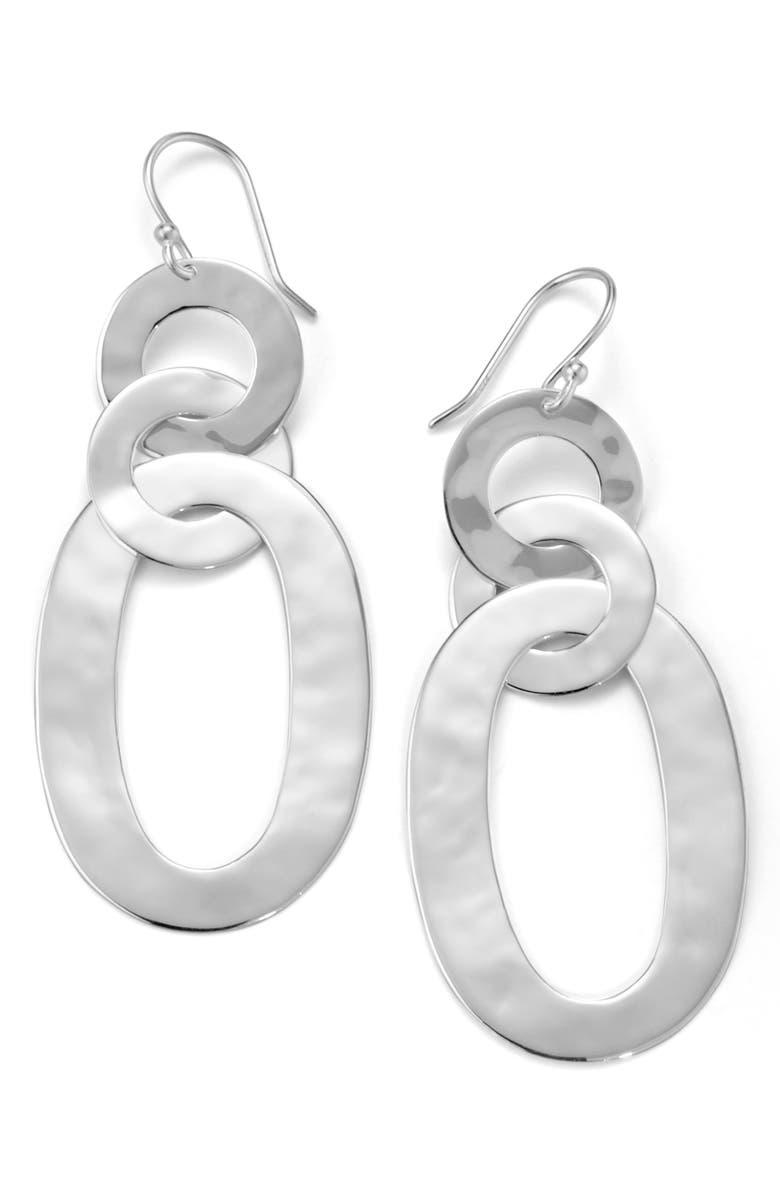 IPPOLITA Roma Triple Link Drop Earrings, Main, color, 040