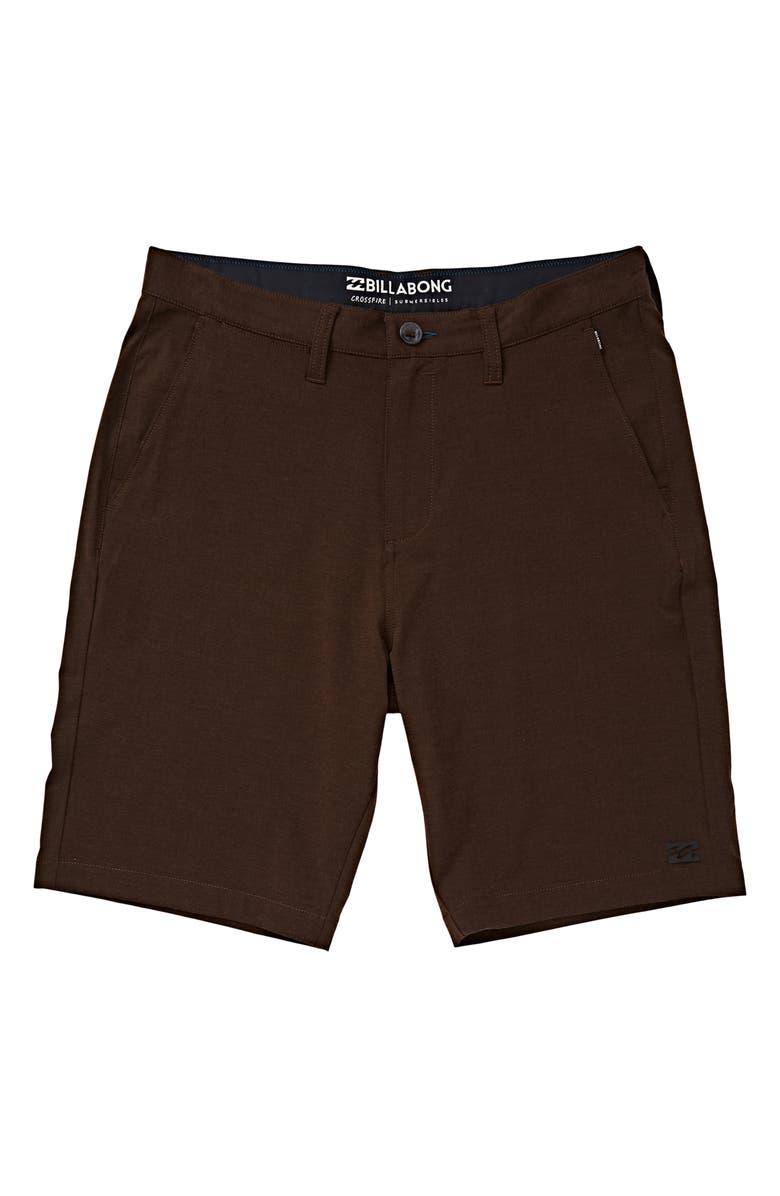 BILLABONG Crossfire X Submersible Shorts, Main, color, MUD