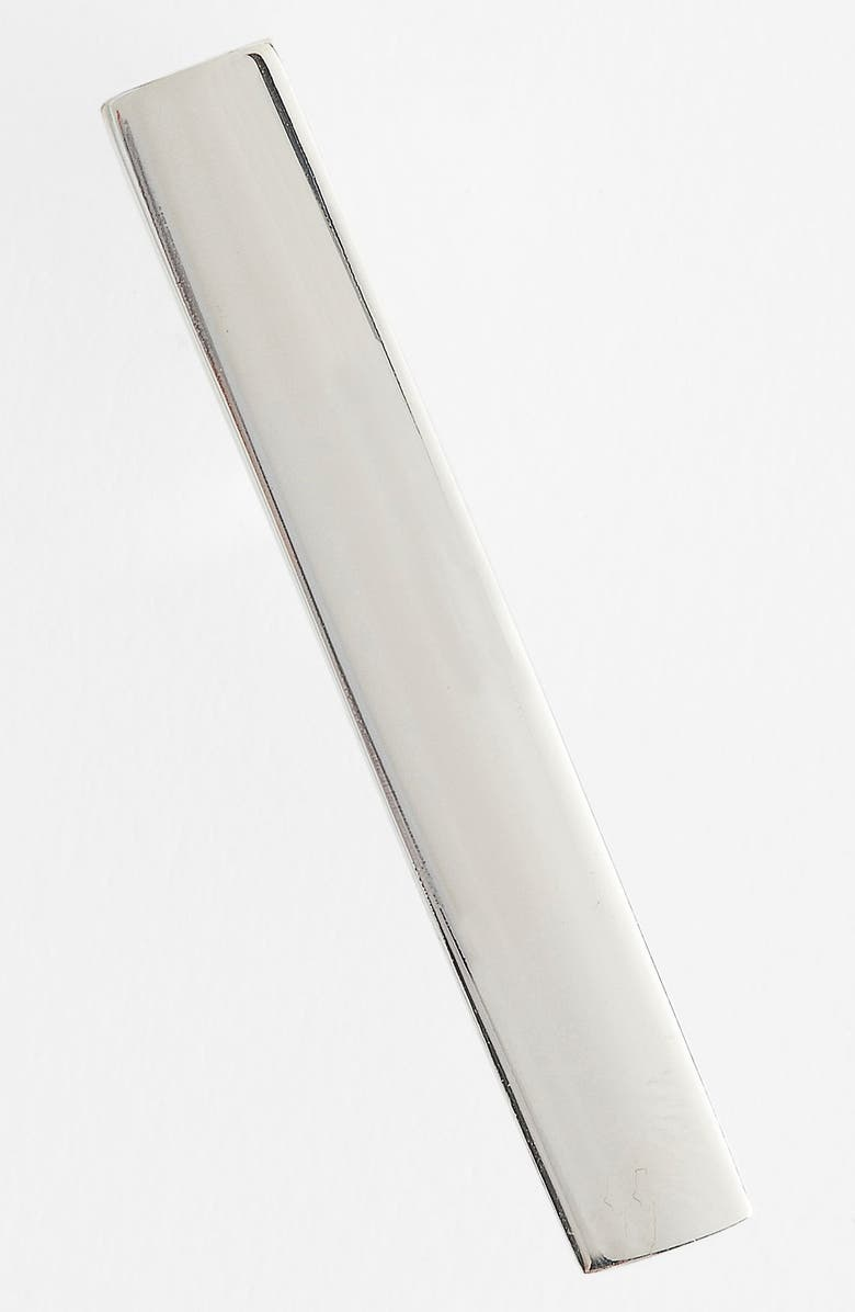 THE TIE BAR Sterling Silver Tie Bar, Main, color, 040