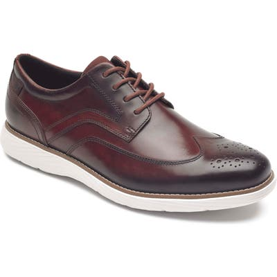 Rockport Kessler Wingtip, Burgundy