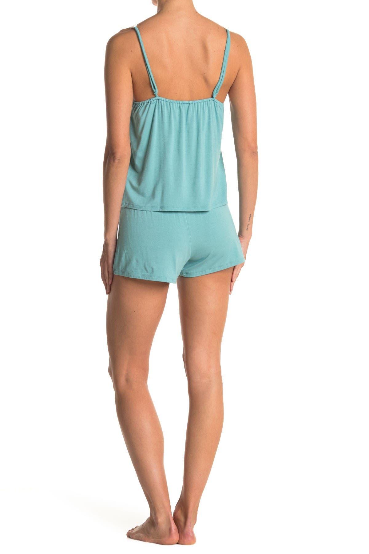 Image of COZY ROZY Jersey Cami & Short Pajama Set