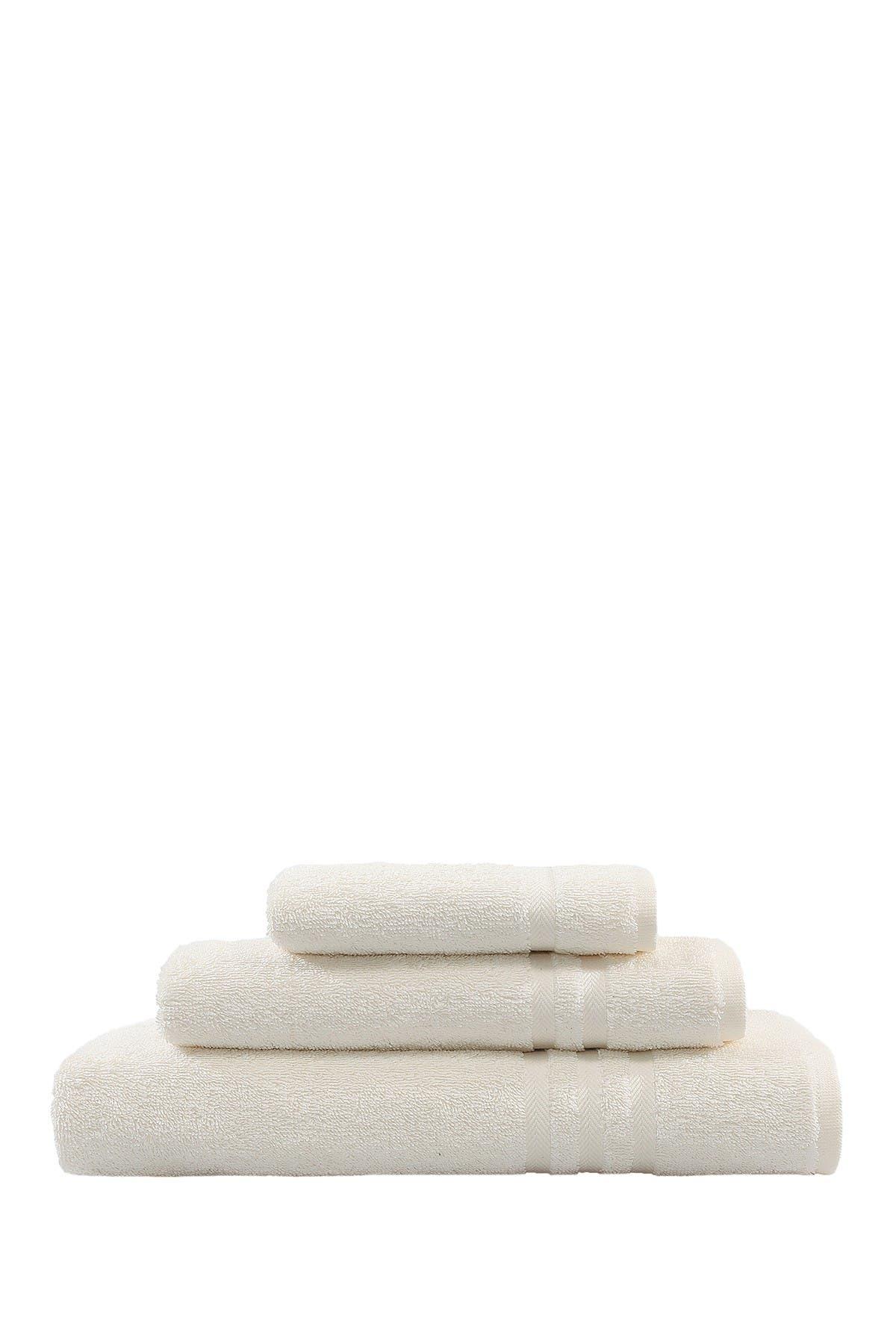 Image of LINUM HOME Denzi 3-Piece Towel Set - Cream