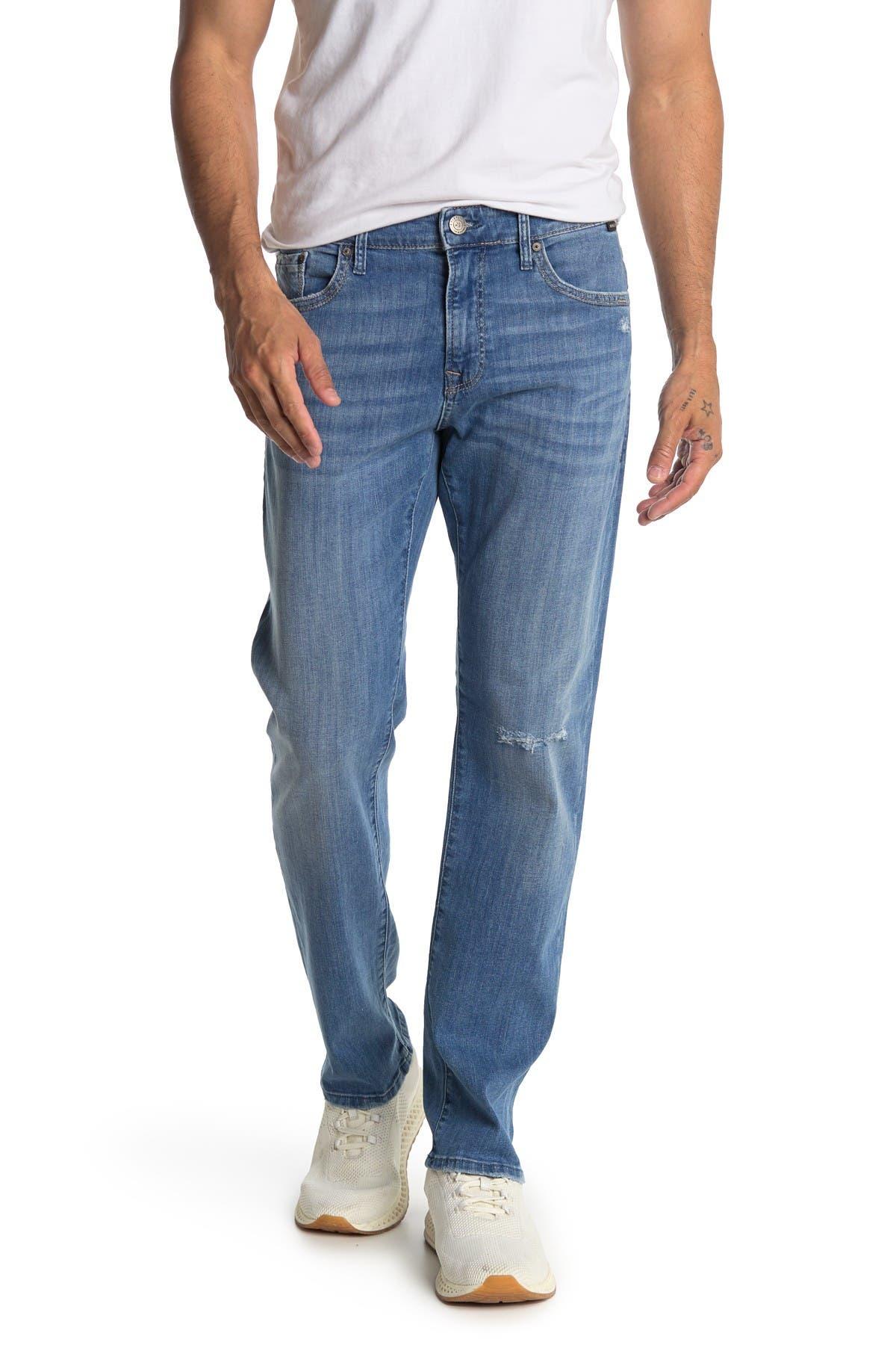 Image of Mavi Zach Indigo Ripped Knee Jeans