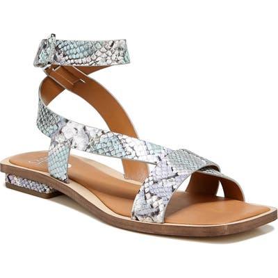 Sarto By Franco Sarto Ema Ankle Strap Sandal- Grey