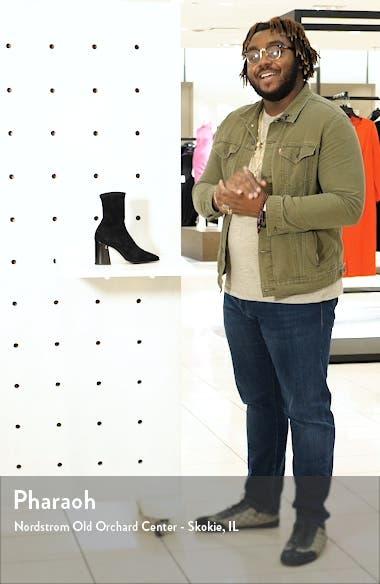 Bryelle Stretch Block Heel Bootie, sales video thumbnail