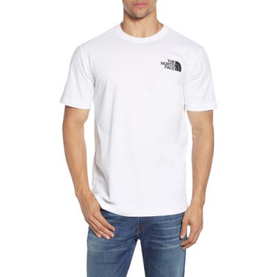 The North Face Red Box Graphic T-Shirt, White