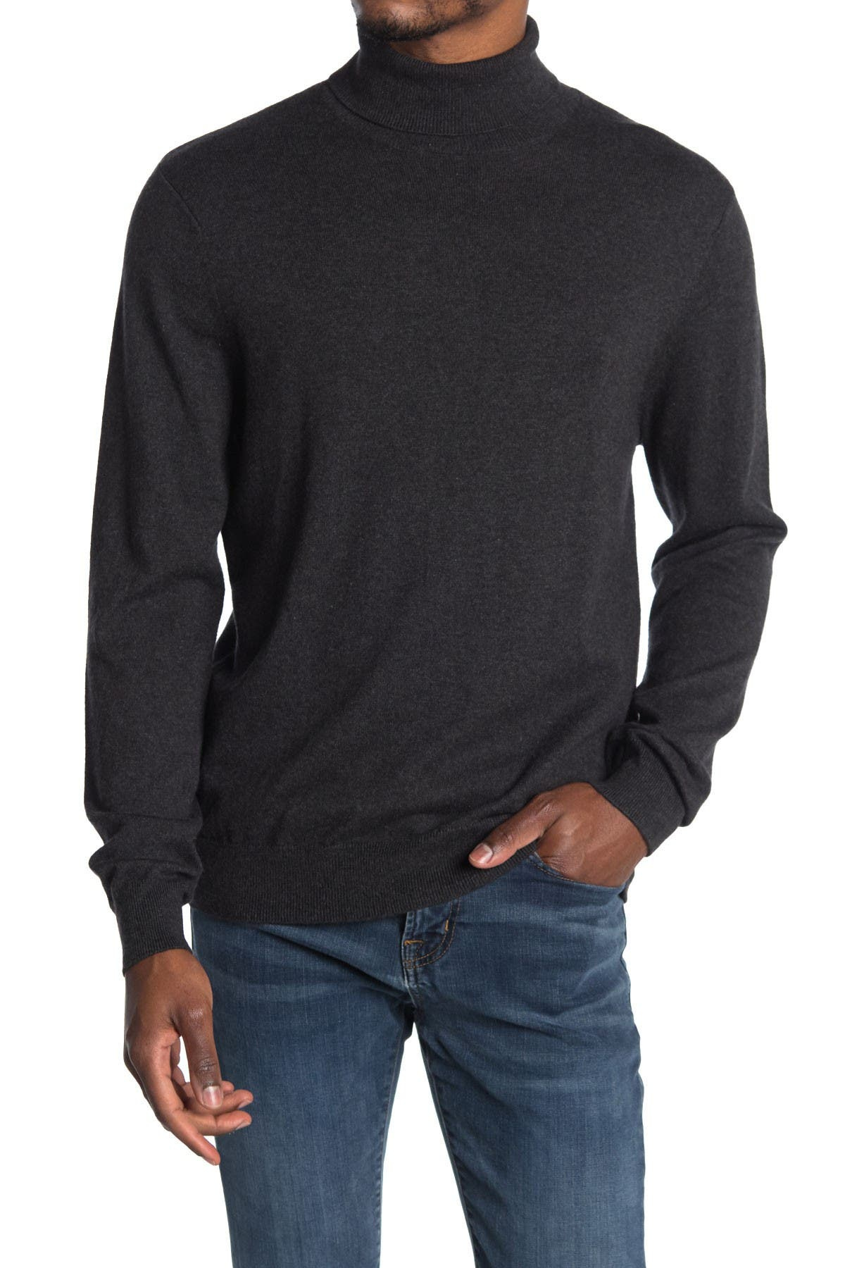 Image of WALLIN & BROS Cotton Cashmere Turtleneck