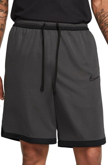 NIKE B-BALL ELITE STRIPE ATHLETIC SHORTS