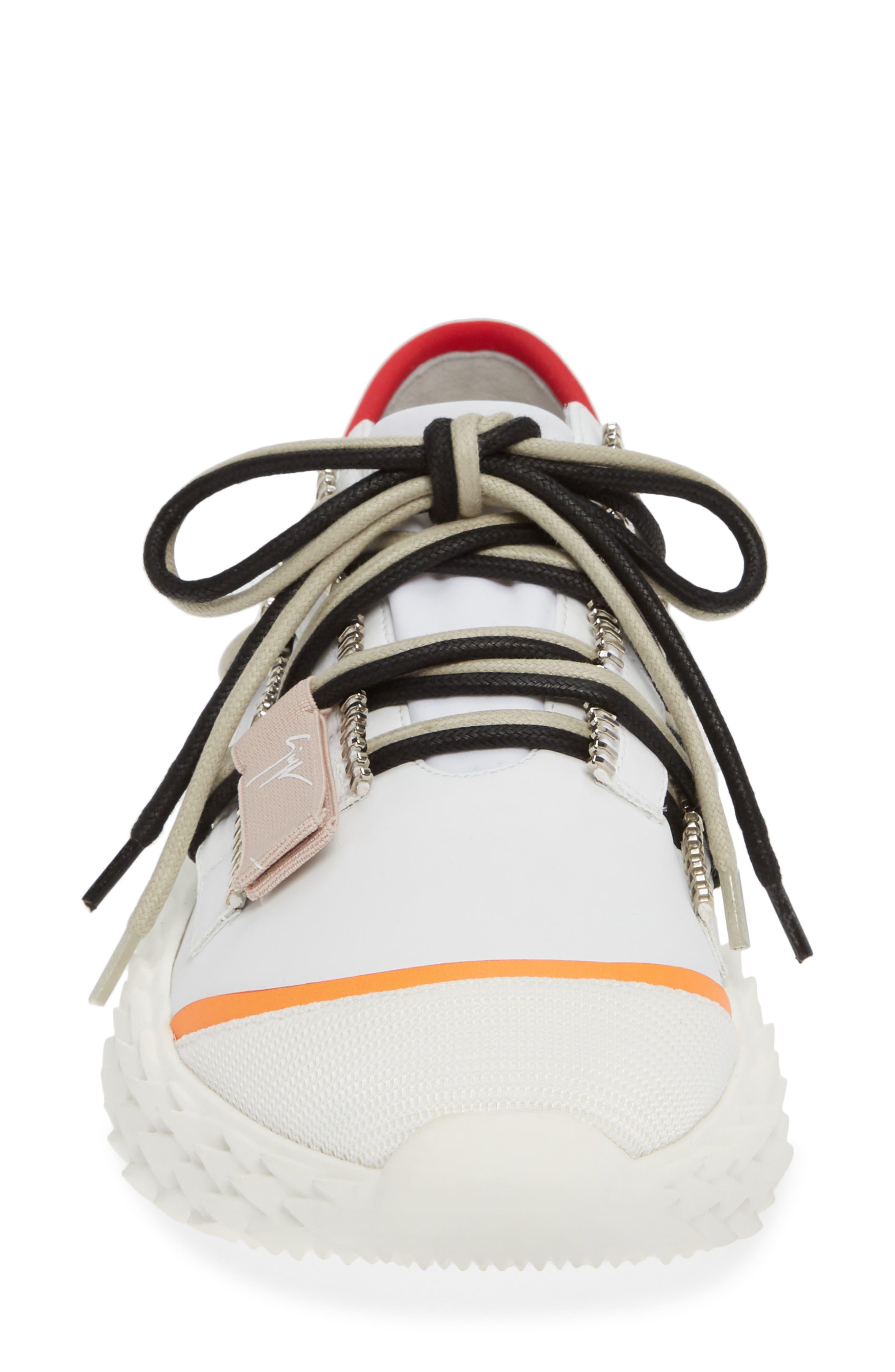 ,                             Scale Sole Sneaker,                             Alternate thumbnail 4, color,                             WHITE