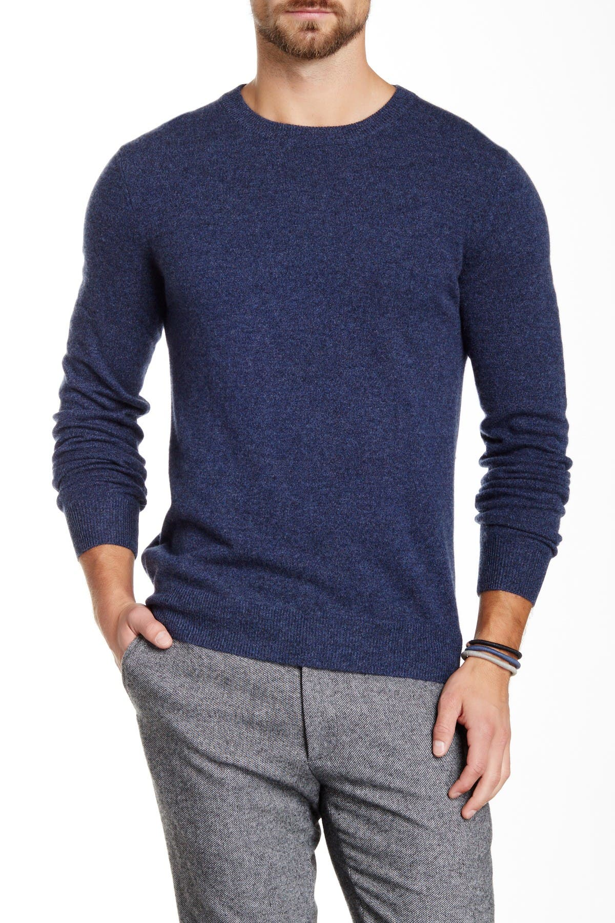 Image of Quinn Cashmere Crew Neck Sweater