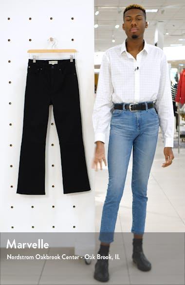 Cali High Waist Crop Demi Boot Jeans, sales video thumbnail