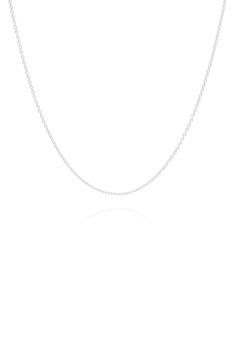 ANNA BECK 26-Inch Delicate Chain, Main, color, SILVER