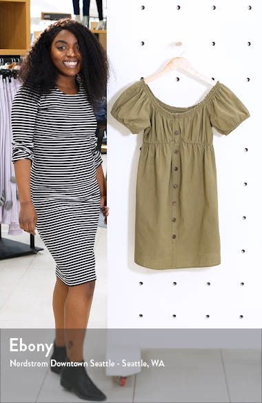 Puff Sleeve Minidress, sales video thumbnail