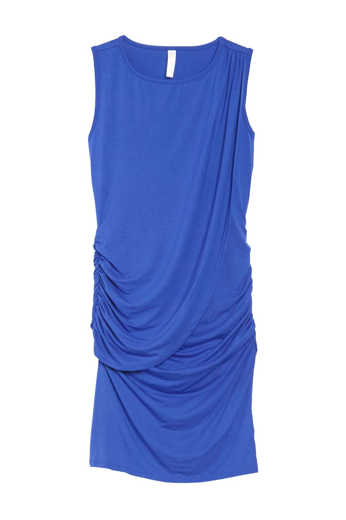 Image of Loveappella Draped Front Dress