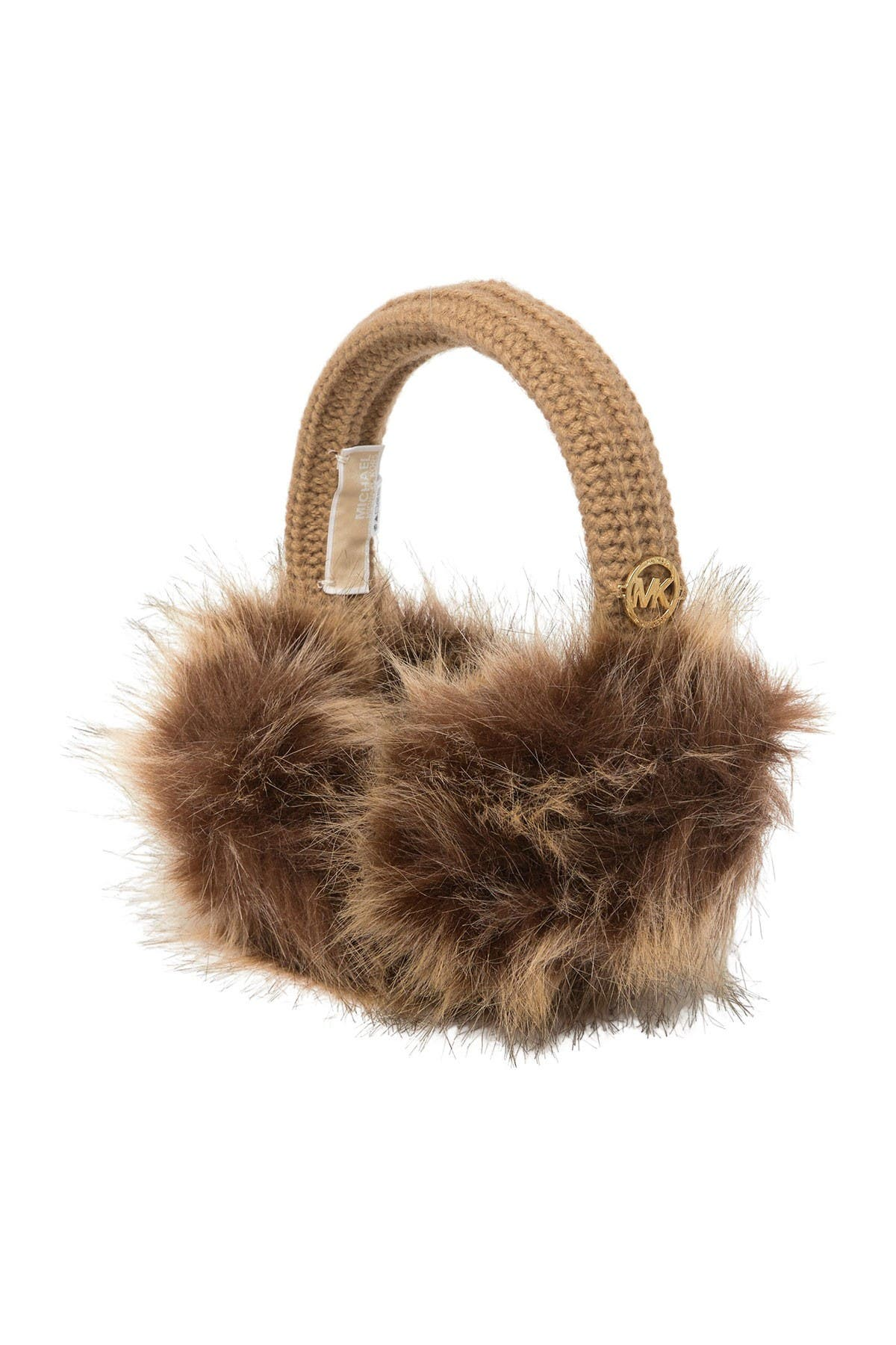 Image of Michael Kors Shaker Faux Fur Earmuffs