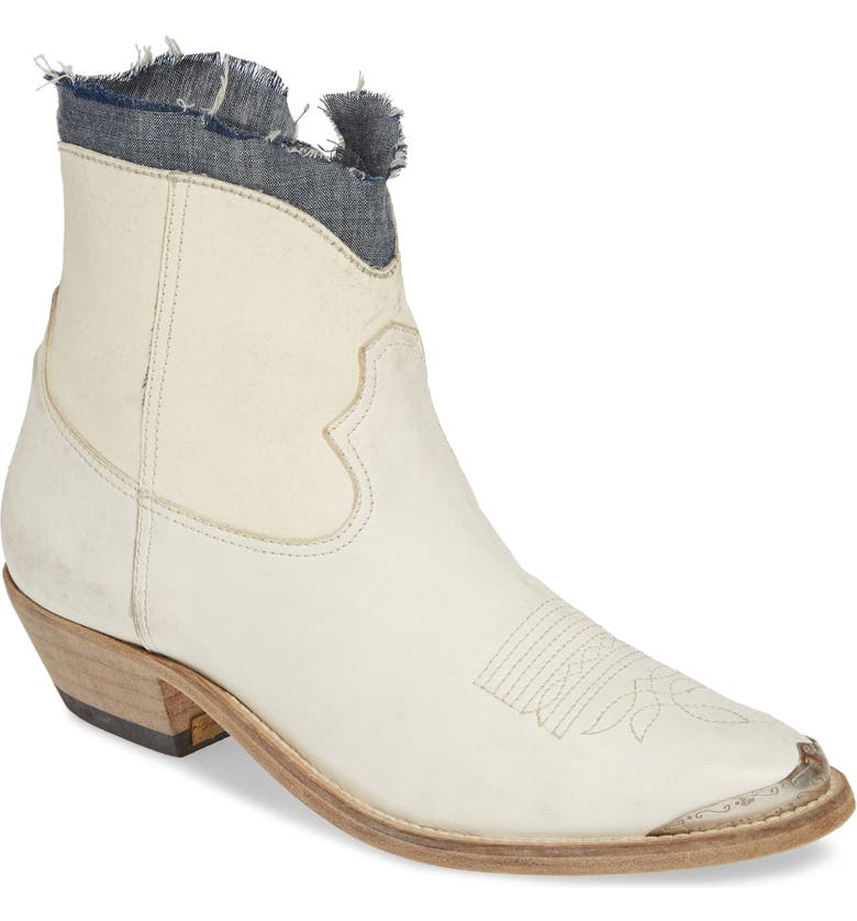 GOLDEN GOOSE Western Young Boot, Main, color, ICE