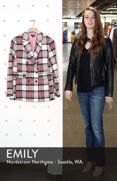Tartan Double Breasted Jacket, sales video thumbnail