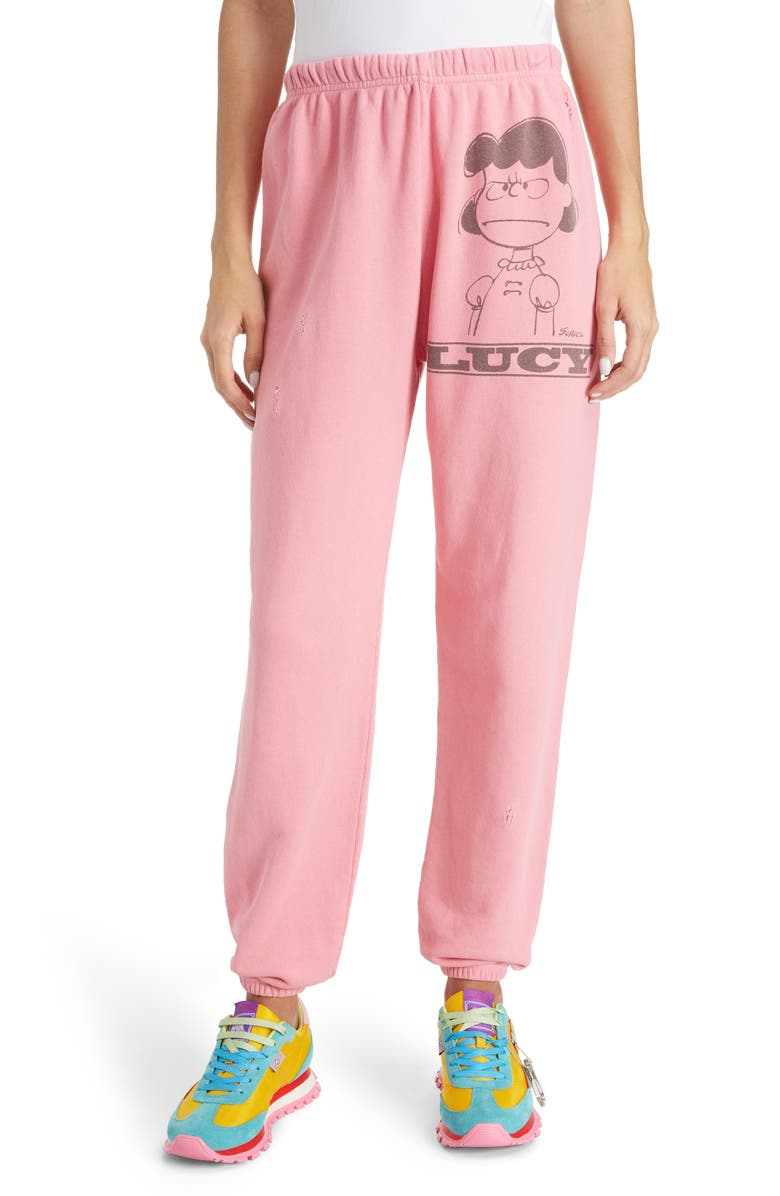 MARC JACOBS x Peanuts<sup>®</sup> Lucy Gym Pants, Main, color, 650