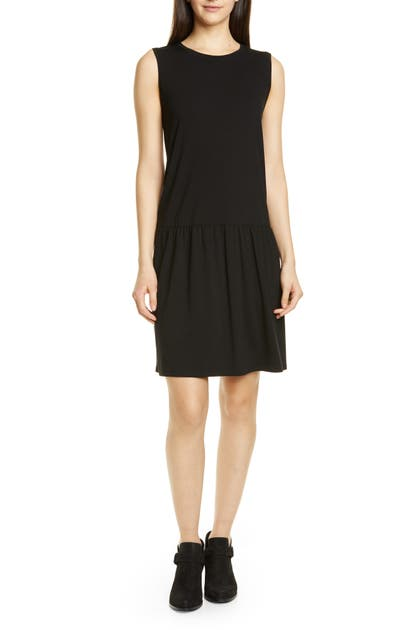 Eileen Fisher Dresses DROP WAIST JERSEY DRESS