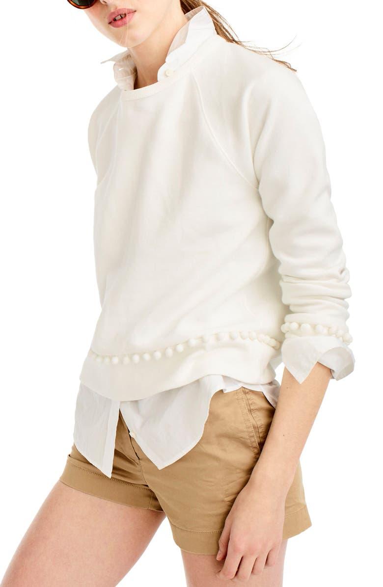 ecc95cd7d5 Pompom Sweatshirt