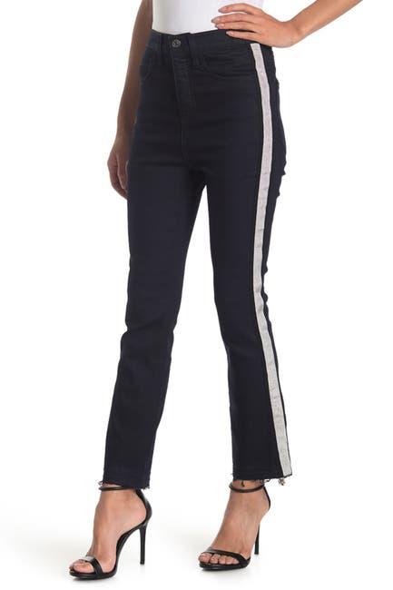 Image of VERONICA BEARD Carly High Waisted Kick Flare Jeans