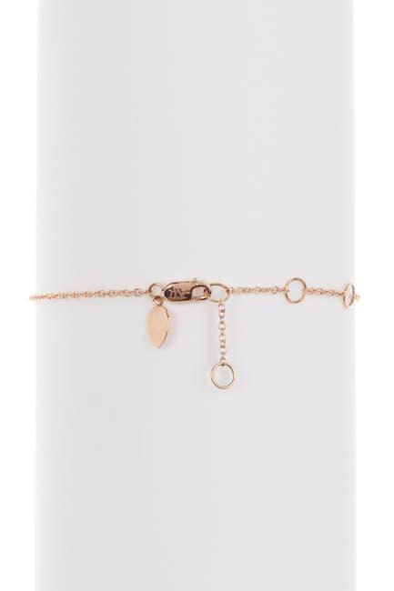 Image of Meira T 14K Rose Gold Chalcedony Bracelet