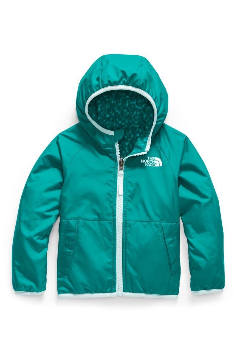 THE NORTH FACE Breezeway Reversible Water Repellent Windproof Jacket, Main, color, JAIDEN GREEN