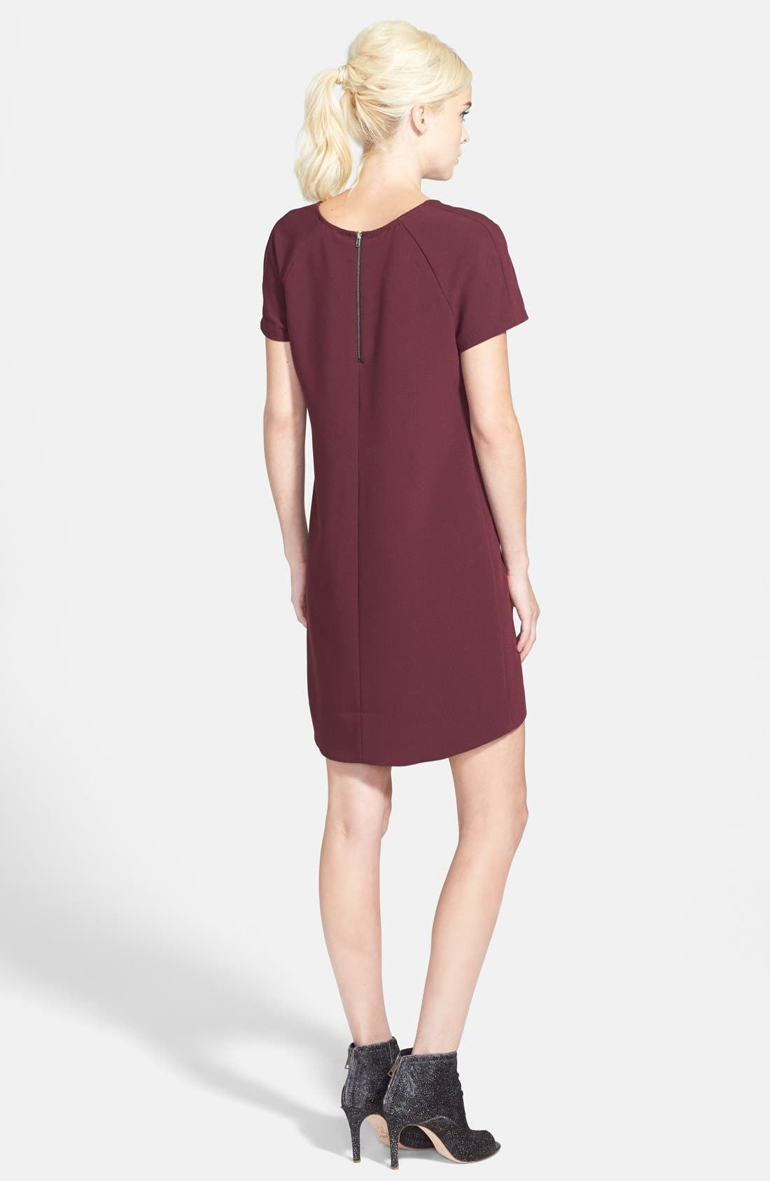,                             Crepe Shift Dress,                             Alternate thumbnail 23, color,                             930